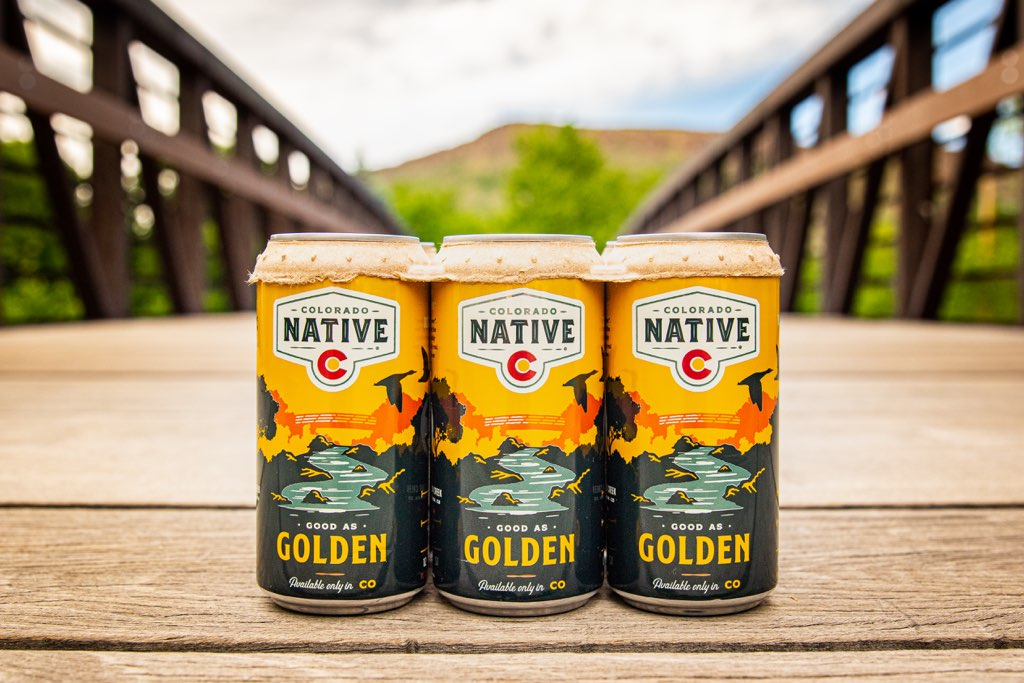 Colorado Native cans with new six-pack ring