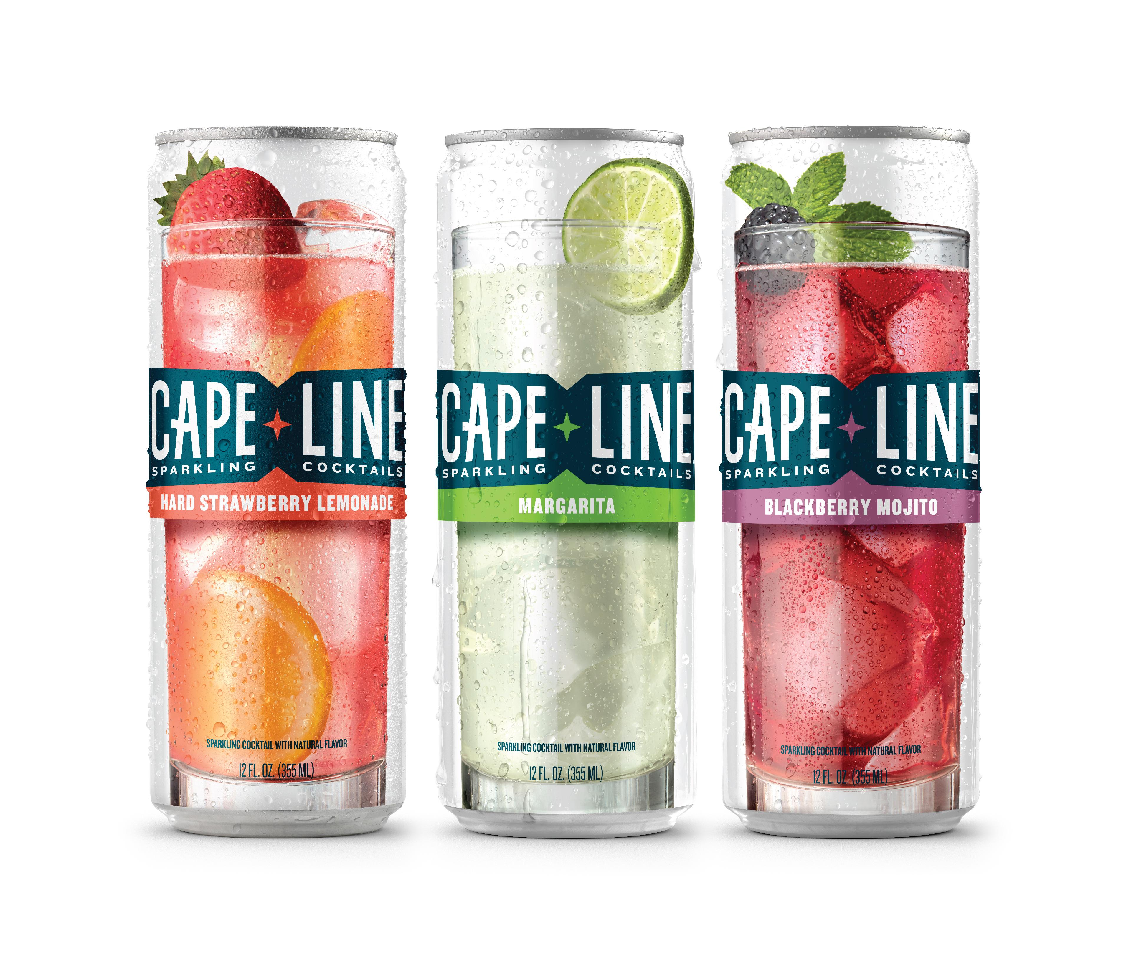 Cape Line A New Line Of Sparkling Cocktails Unveils
