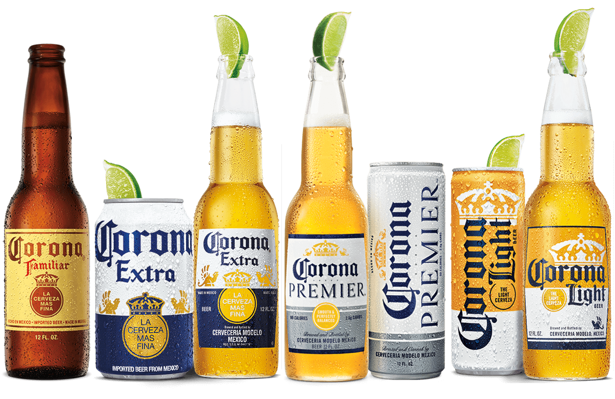 how much percent is a corona beer