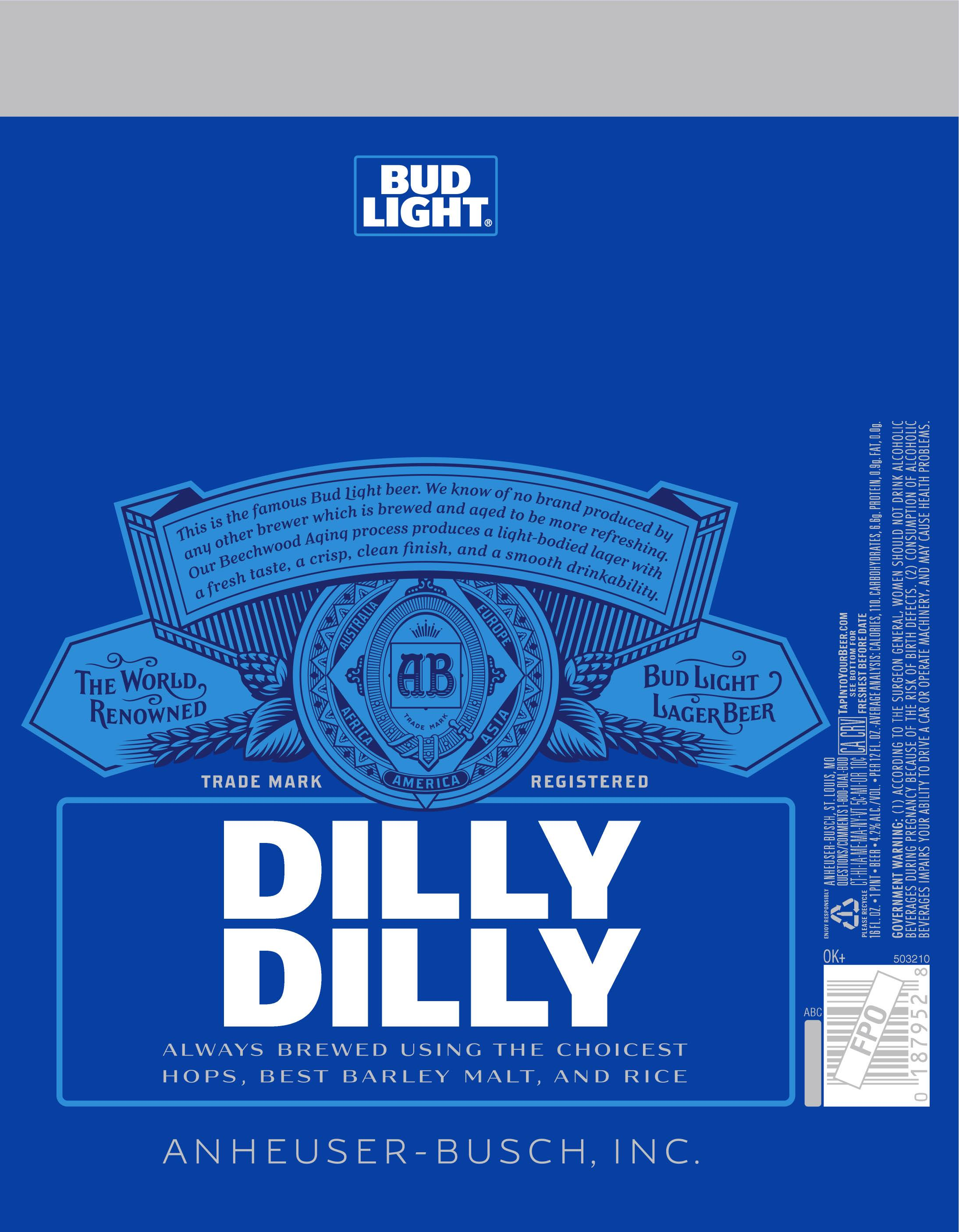 Bud Light bringing Dilly Dilly campaign to labels? | MillerCoors