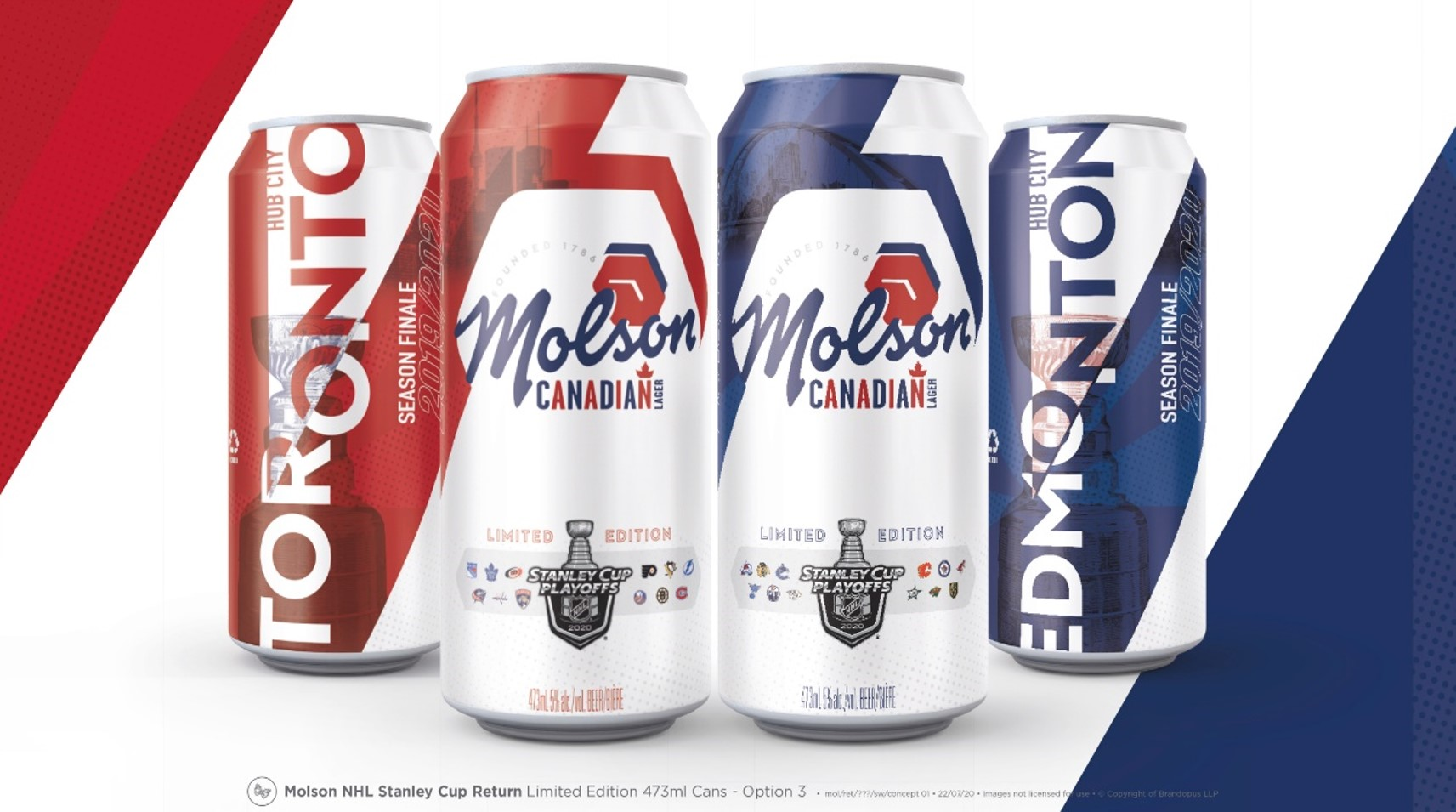 Commemorative cans