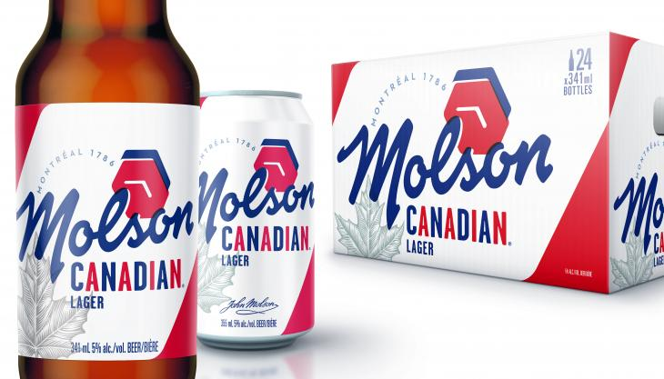 Molson new packaging