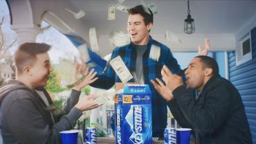 Keystone Light free rent