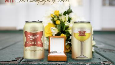 High Life coupe cans