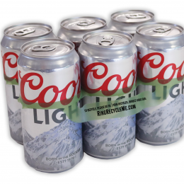 Sustainable Coors Light packaging