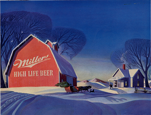 RSc. 1946 MHL Holidays ad- MillerCoors Milwaukee Archives