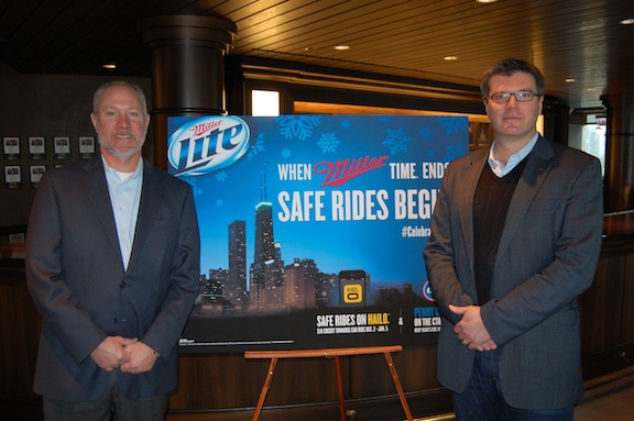 MillerCoors and Hailo announce partnership in Chicago.