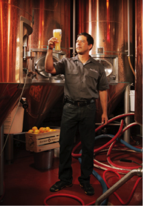 Keith Villa head brewmaster of Blue Moon Bewing Company