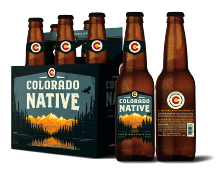 Colorado Native Lager by AC Golden Brewing Company