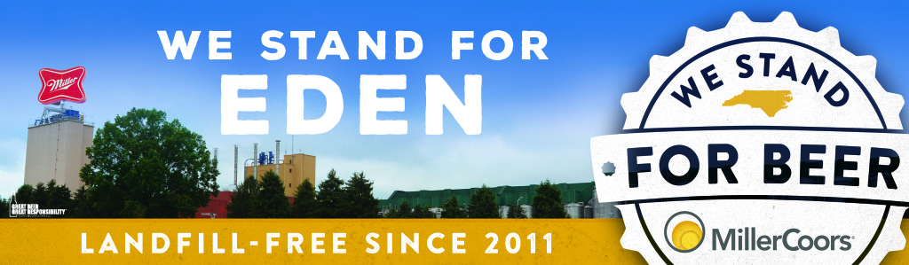 We Stand for Beer Eden landfill-free