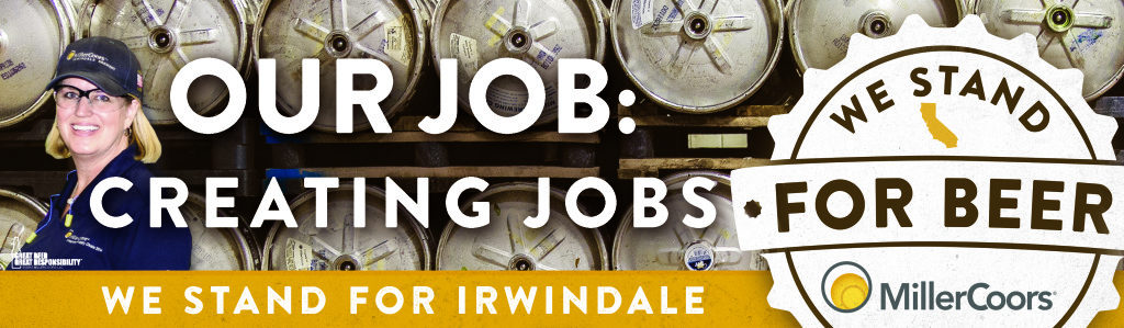 We Stand for Beer Irwindale jobs