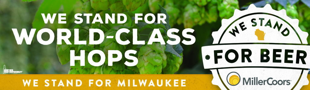 We Stand for Beer Milwaukee hops