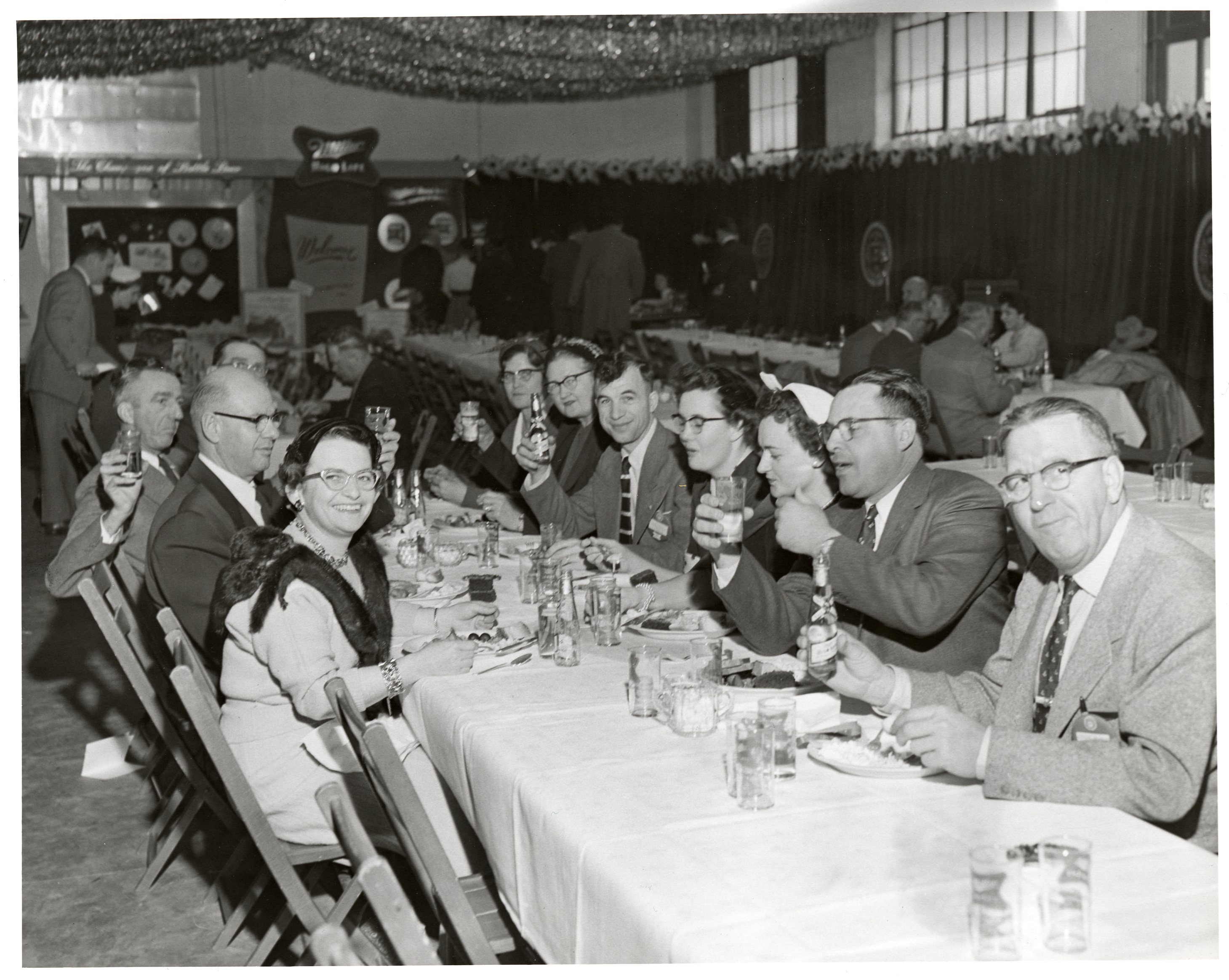 Miller 100th anniversary distributor party 1955