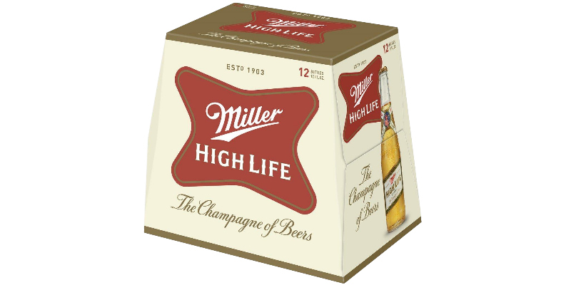 New look of Miller High Life and High Life Light